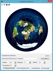 Geografische Projektionsarten