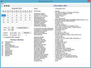 Kalenderprogramm