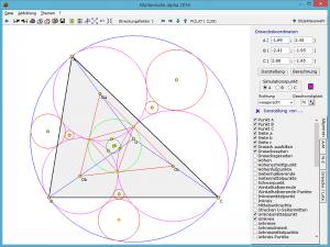 Dreieck interaktiv