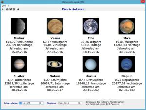 Planetenkalender