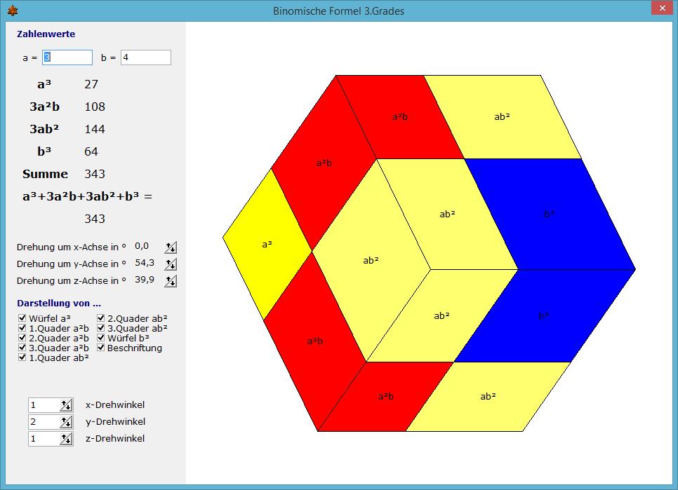 Binomische Formeln Mathematik Alpha